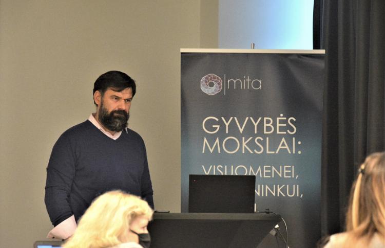 Paulius Vilemas director of Energenas company
